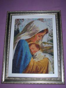 Maria e Gesu' Bambino