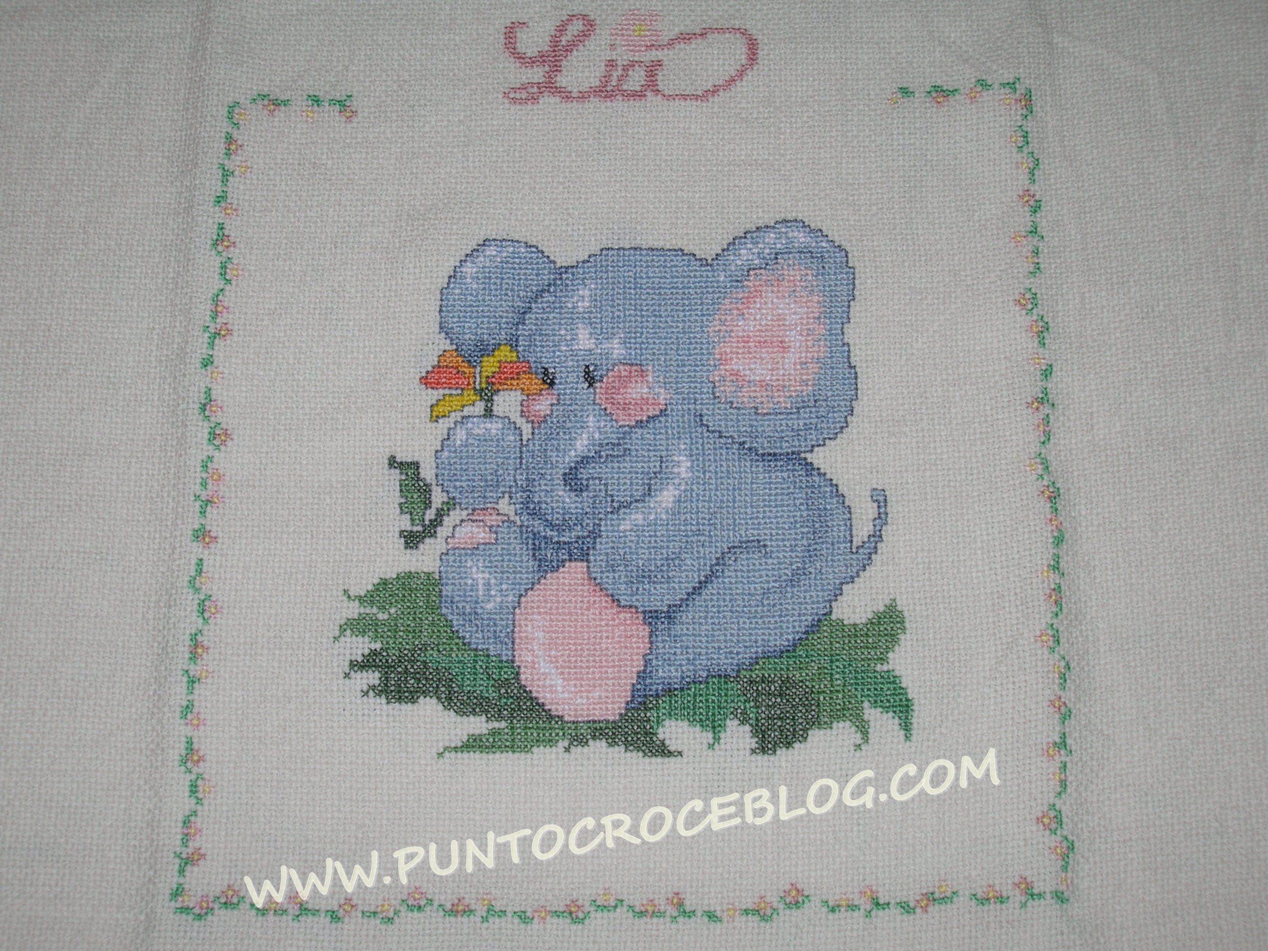 Amato copertina baby topolino | L'Arte del Ricamo OX94