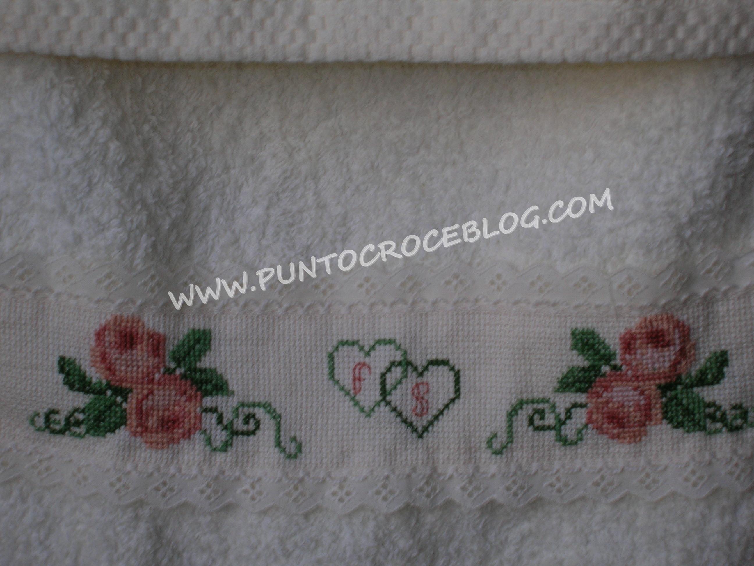 Asciugamani  L'Arte del Ricamo
