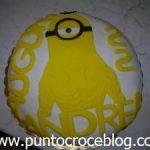 Torta compleanno Buff Minion