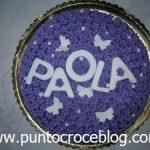 Torta in Pasta di Zucchero Compleanno Paola