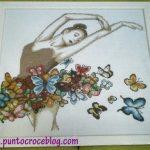 Ballerina a puntocroce